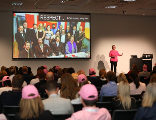 Women in horticulture tickled pink to celebrate their contributions to industry