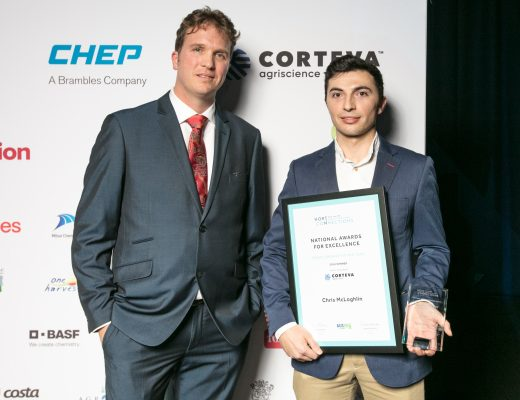 Organic mushroom grower Chris McLoghlin named Young Grower of the Year