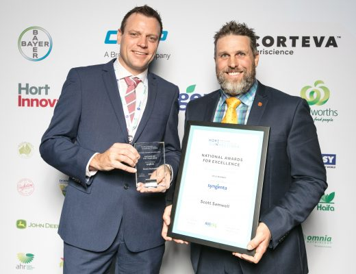 South Australia's Scott Samwell crowned Grower of the Year at Hort Connections 2018