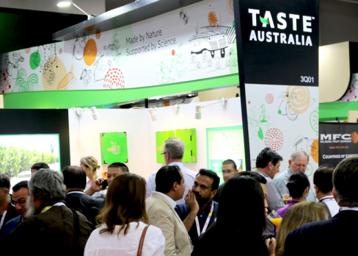 Vegetable industry helps the world Taste Australia at Asia Fruit Logistica