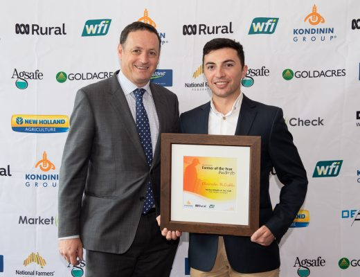 Organic mushroom grower Chris McLoghlin wins Kondinin Group, ABC Rural Young Farmer of the Year Award