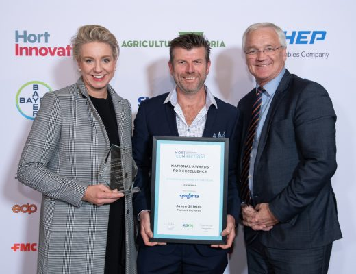 Horticulture industry's shining stars recognised at Hort Connections National Awards for Excellence