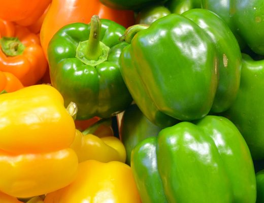 Harvest to Home: Capsicum: the feel-good crunch